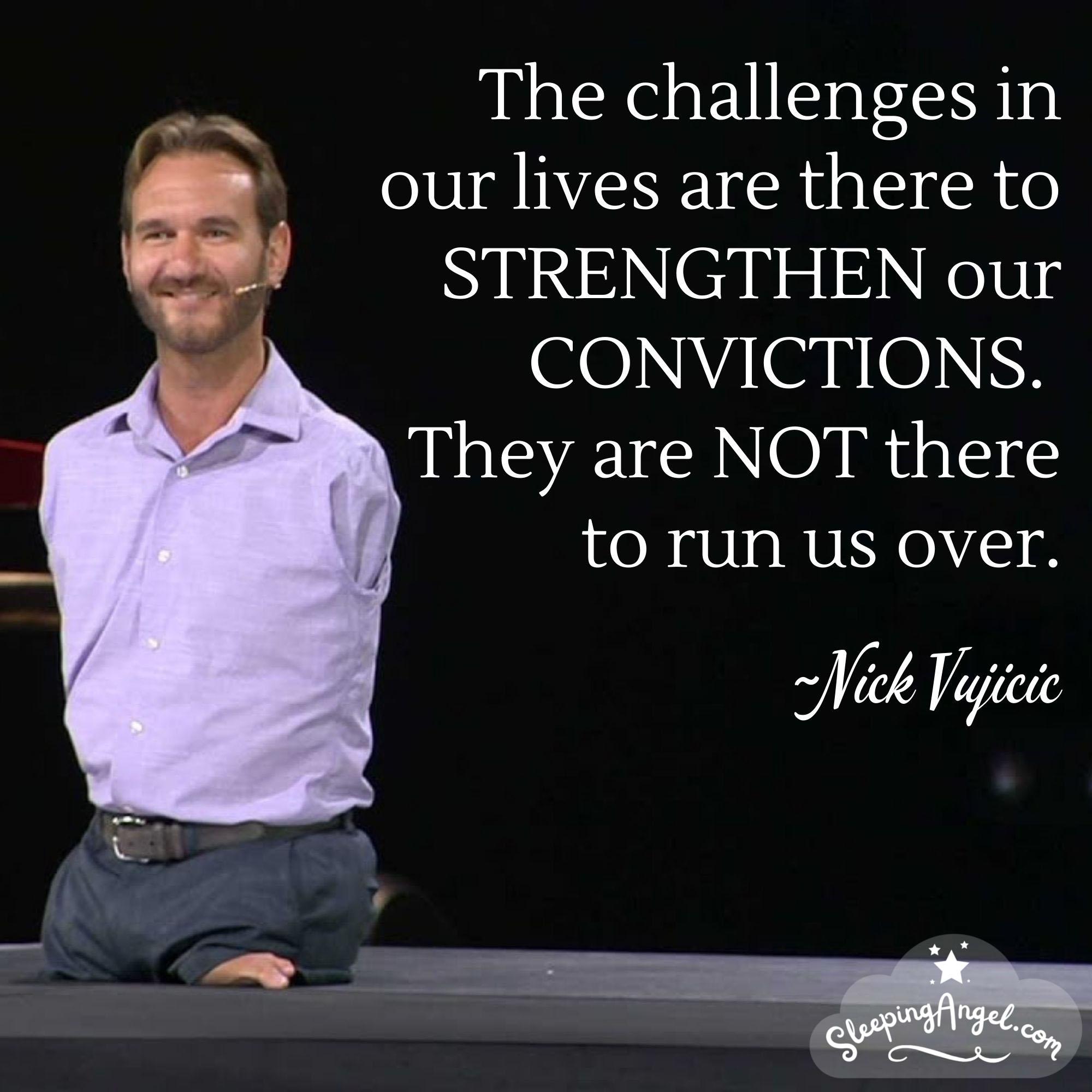 Nick Vujicic Quote