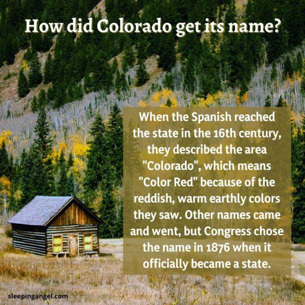 Did You Know? Colorado