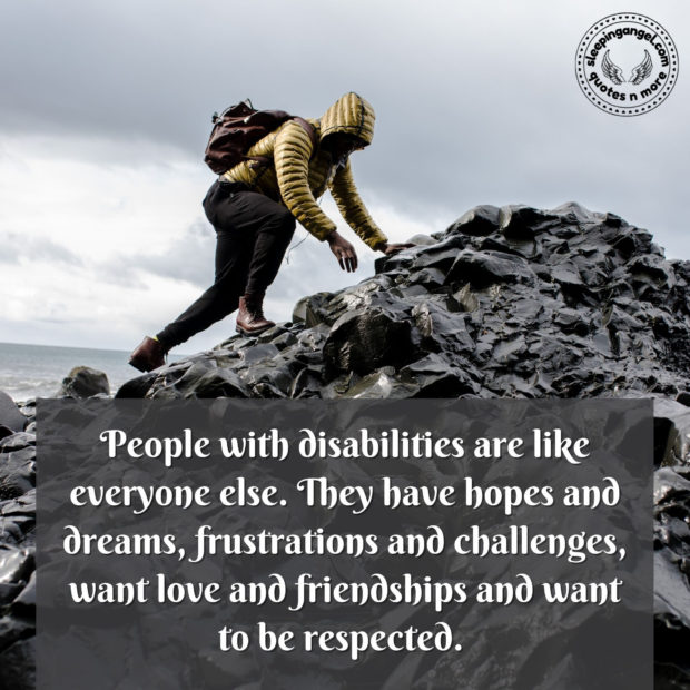 People with Disabilities Quote
