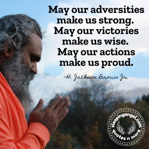 Adversities Quote